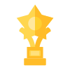 Trophies icon hover