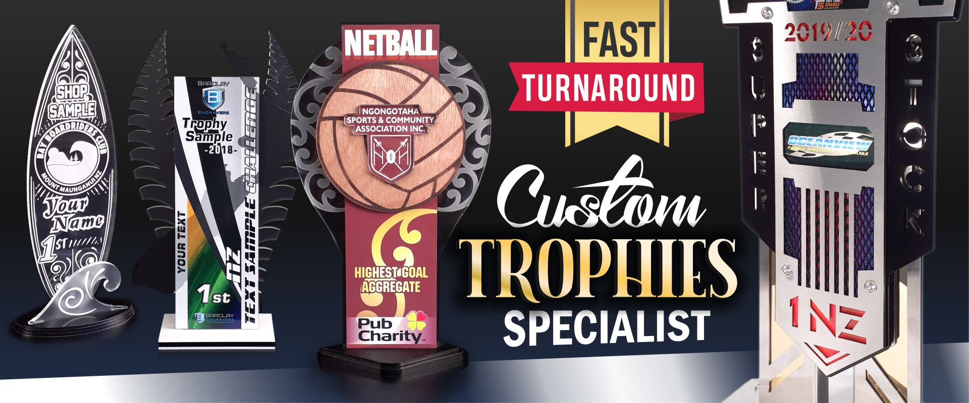 Custom Trophies Specialist 2